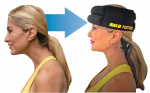 posture correction using halo weights